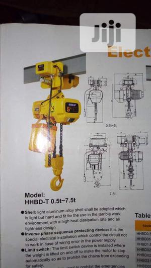2000kg Electric Chain Block | Manufacturing Equipment for sale in Lagos State, Lagos Island (Eko)