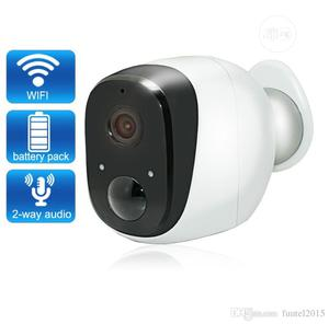 Battery Powered Wifi Wireles IP Camera With Month Battery | Security & Surveillance for sale in Lagos State, Ikeja