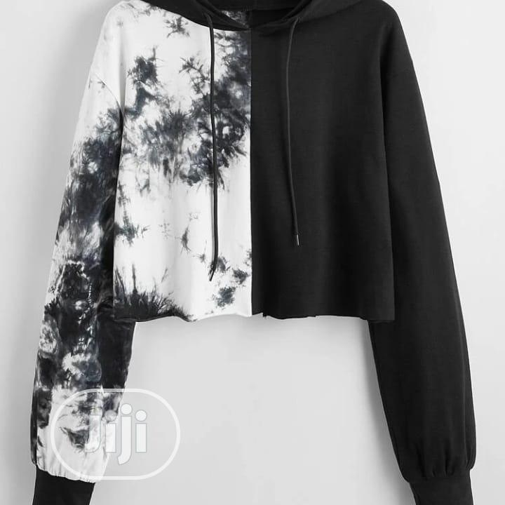 White and Black Hoodies