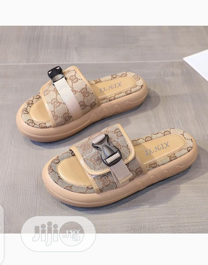 New Quality Female Turkey Slides Slippers | Shoes for sale in Ikeja, Lagos State, Nigeria