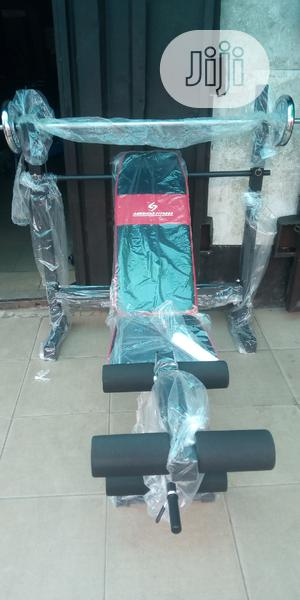 New American Fitness Heavy Weight Bench | Sports Equipment for sale in Rivers State, Port-Harcourt