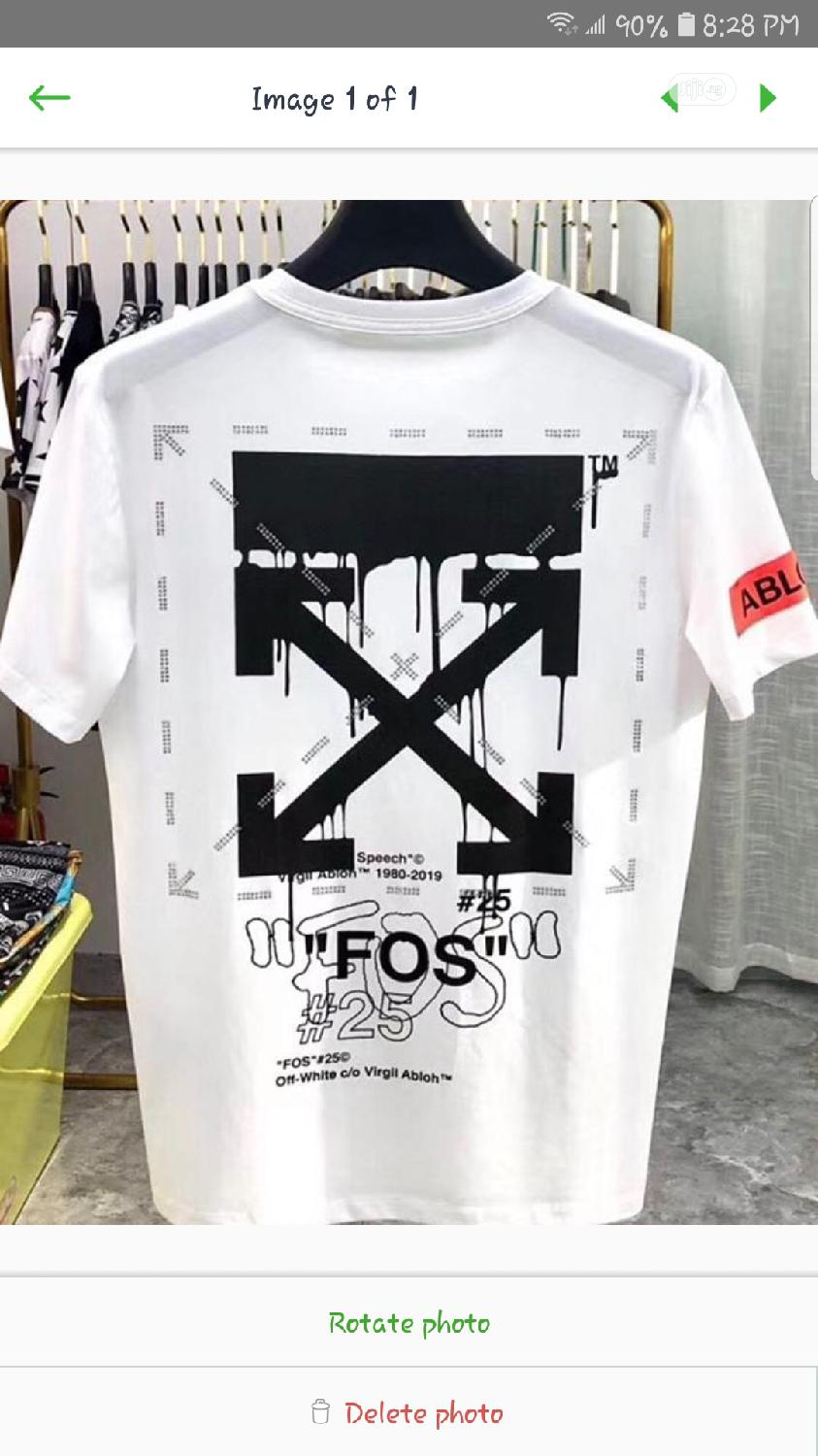 Offwhite Shirt | Clothing for sale in Wuse 2, Abuja (FCT) State, Nigeria