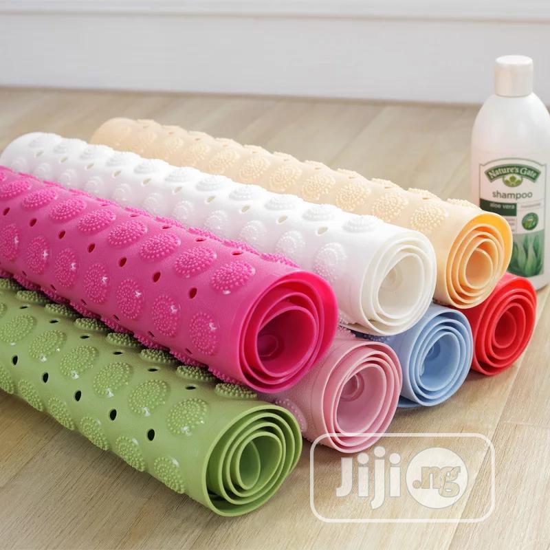 Anti Slip Bathroom Mat With Sucker Rubber