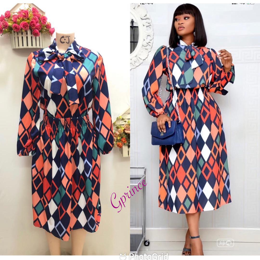 Quality High Neck Corporate Gown | Clothing for sale in Ikeja, Lagos State, Nigeria