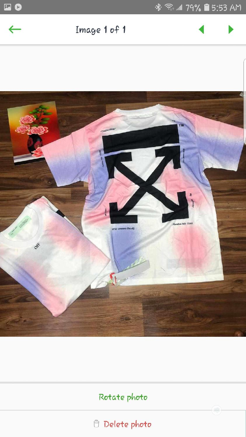Offwhite Shirt | Clothing for sale in Gwarinpa, Abuja (FCT) State, Nigeria