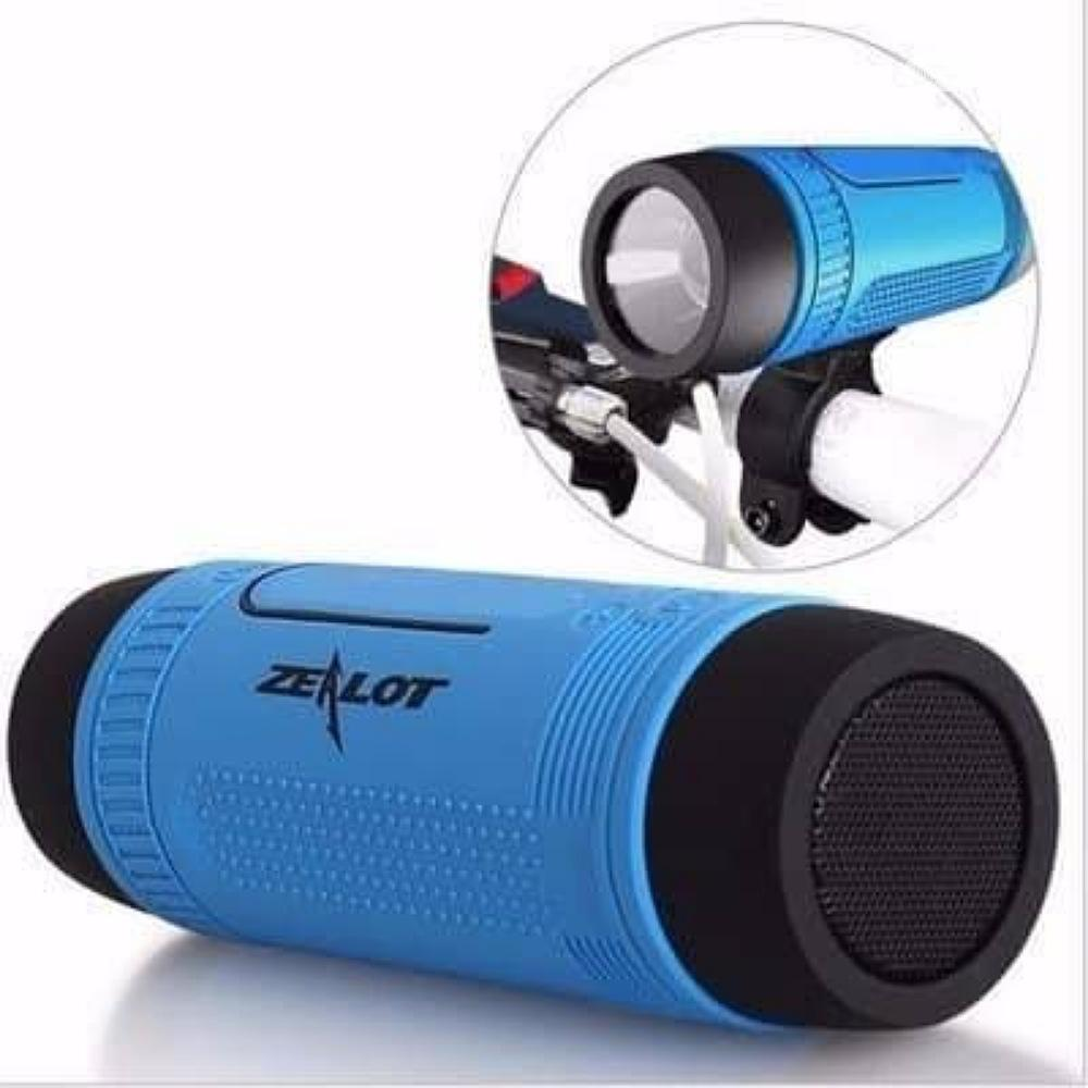 Bluetooth Speaker With Torchlight And Powerbank