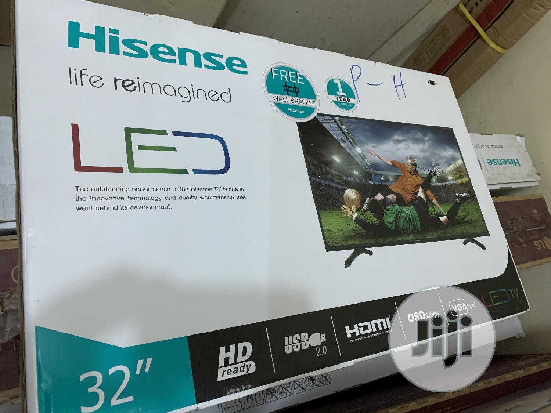 Hisense 32 LED HD TV Black