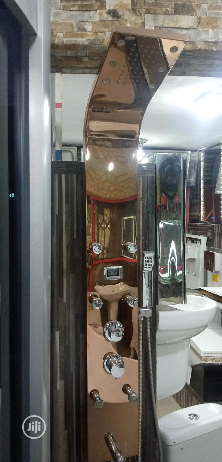 Rose Gold Power Shower | Plumbing & Water Supply for sale in Orile, Lagos State, Nigeria