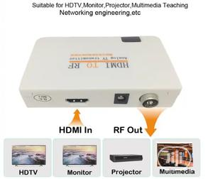 HDMI To RF Converter | Accessories & Supplies for Electronics for sale in Lagos State, Ojo
