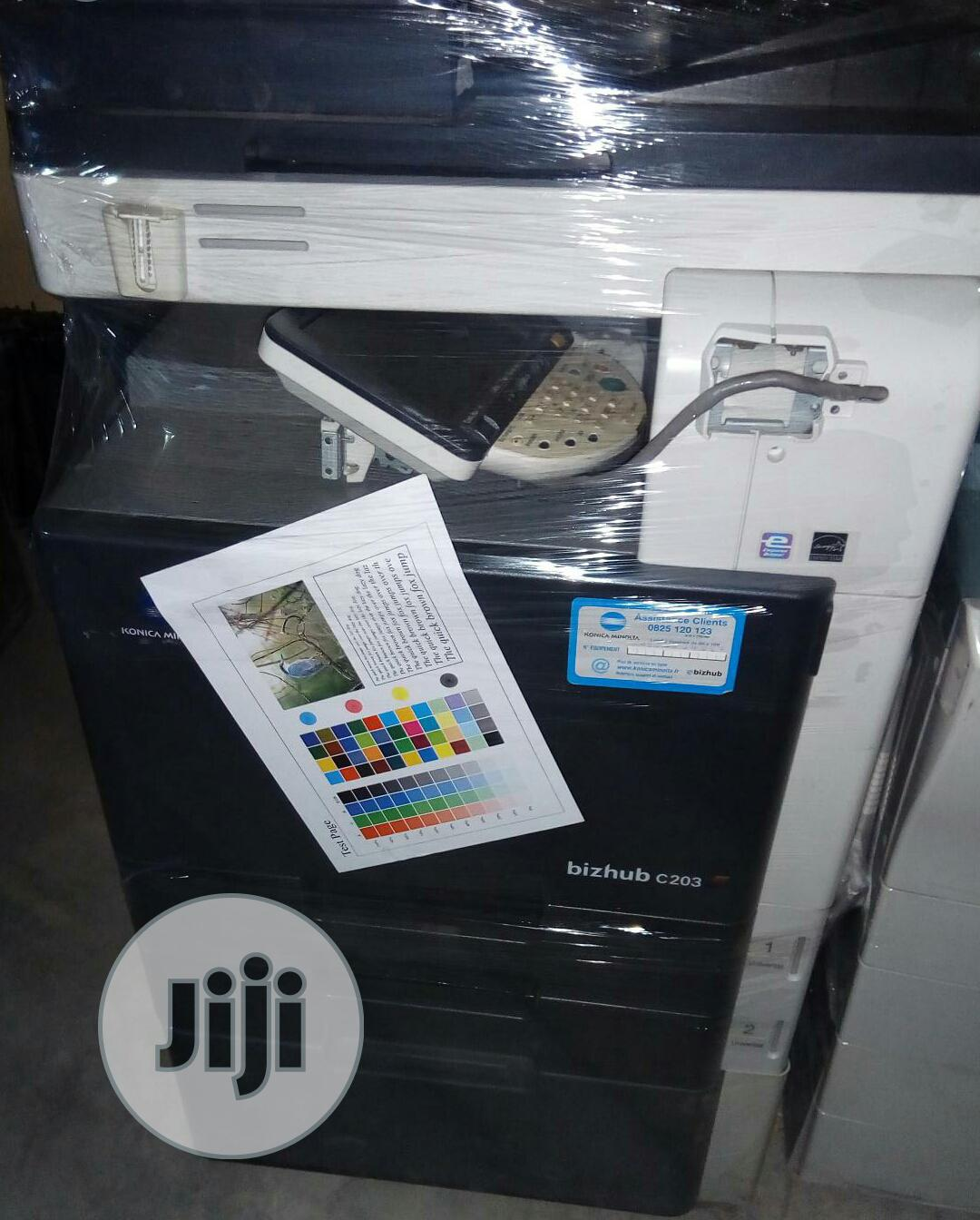 Konica Minolta Direct Image Printer C203   Printers & Scanners for sale in Ikeja, Lagos State, Nigeria