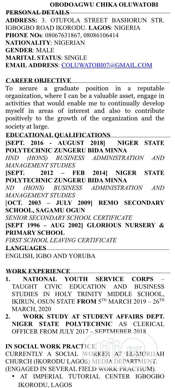 Laspotech Guesthouse | Advertising & Marketing CVs for sale in Ikorodu, Lagos State, Nigeria