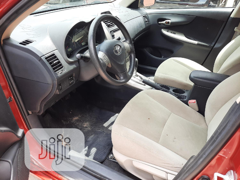 Toyota Corolla 2013 Red   Cars for sale in Amuwo-Odofin, Lagos State, Nigeria
