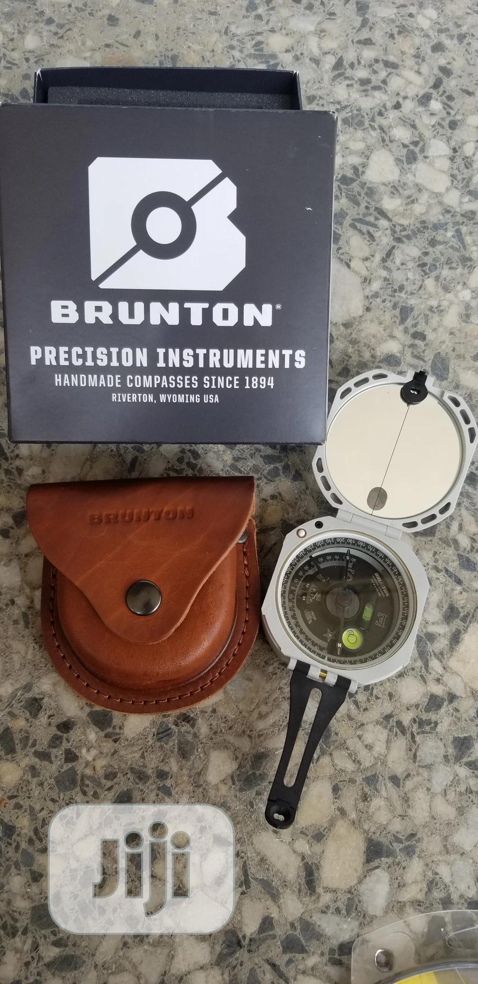 Brunton Professional Compass With Leather Case | Camping Gear for sale in Ibadan, Oyo State, Nigeria