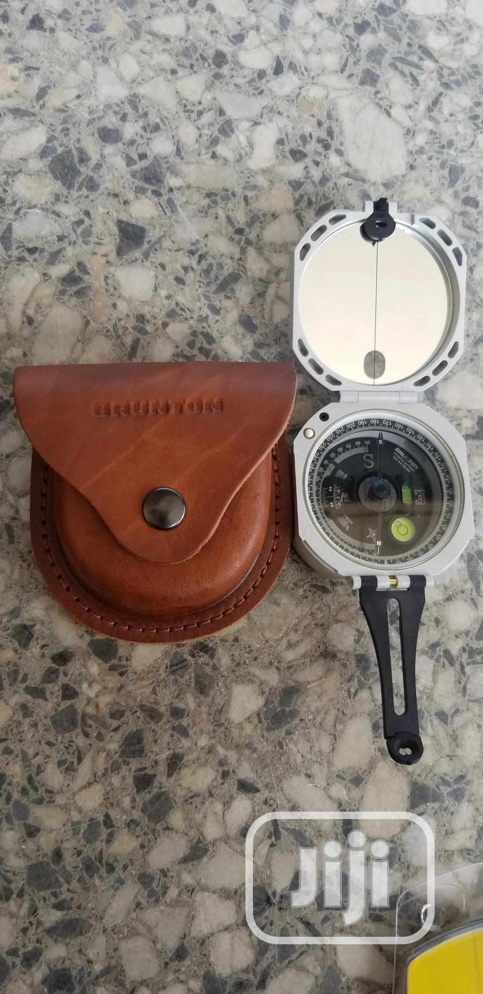 Brunton Professional Compass With Leather Case