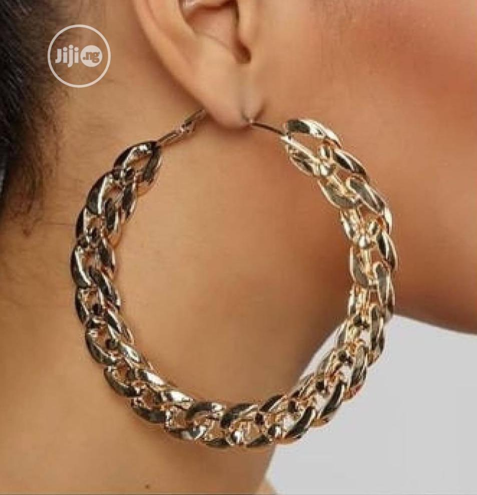 Archive: Fashion Cuban Hoop Earings