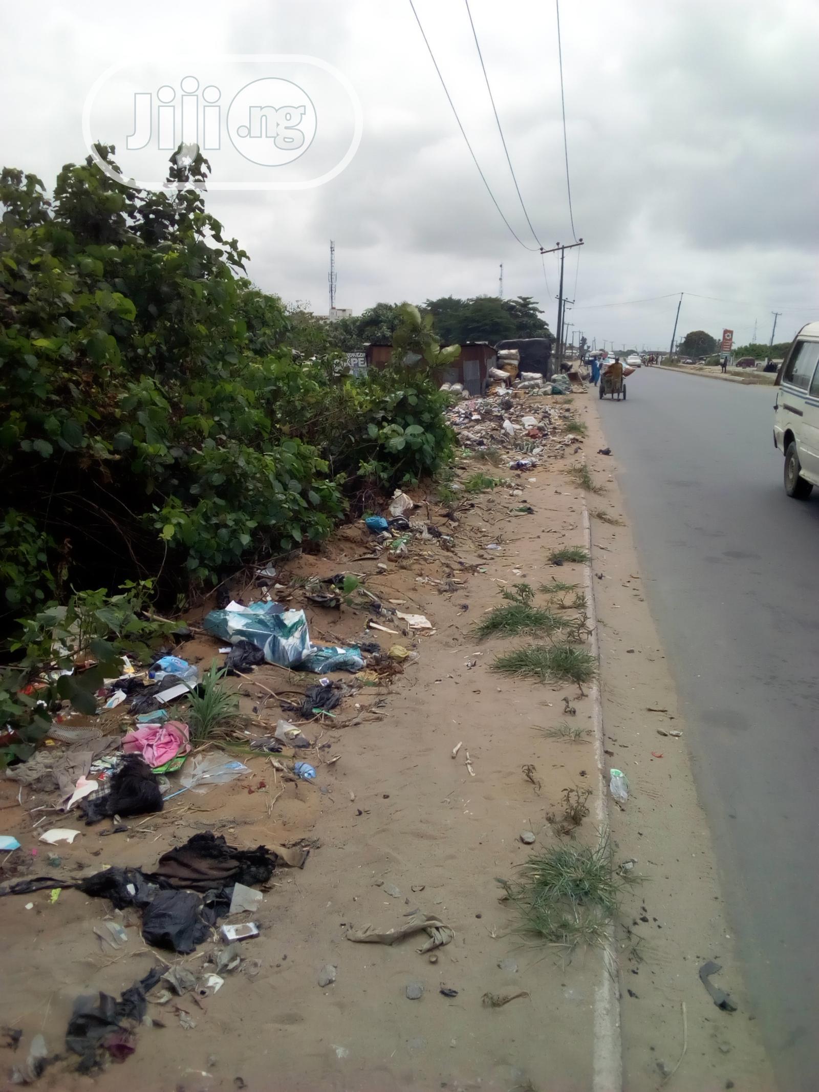 Land Facing Badagry Expressway