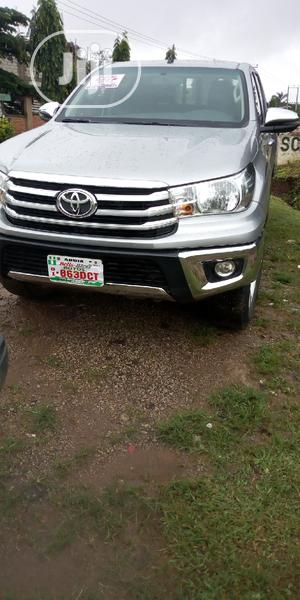 Toyota Hilux 2017 Gray | Cars for sale in Abuja (FCT) State, Gwarinpa