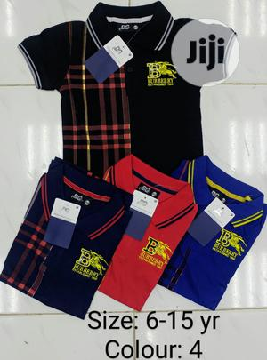 A Quality Burberry Polo Shirts   Children's Clothing for sale in Abuja (FCT) State, Jabi