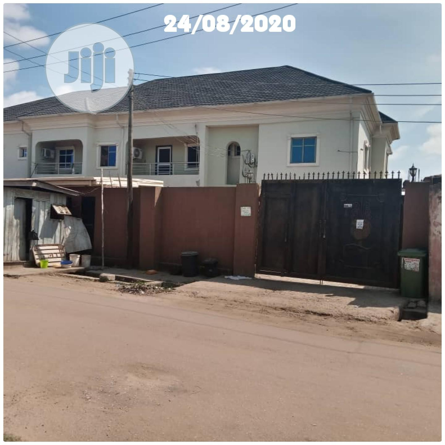 Archive: Neatly Used 5 Bedroom Duplex At Ago Palace Way For Sale