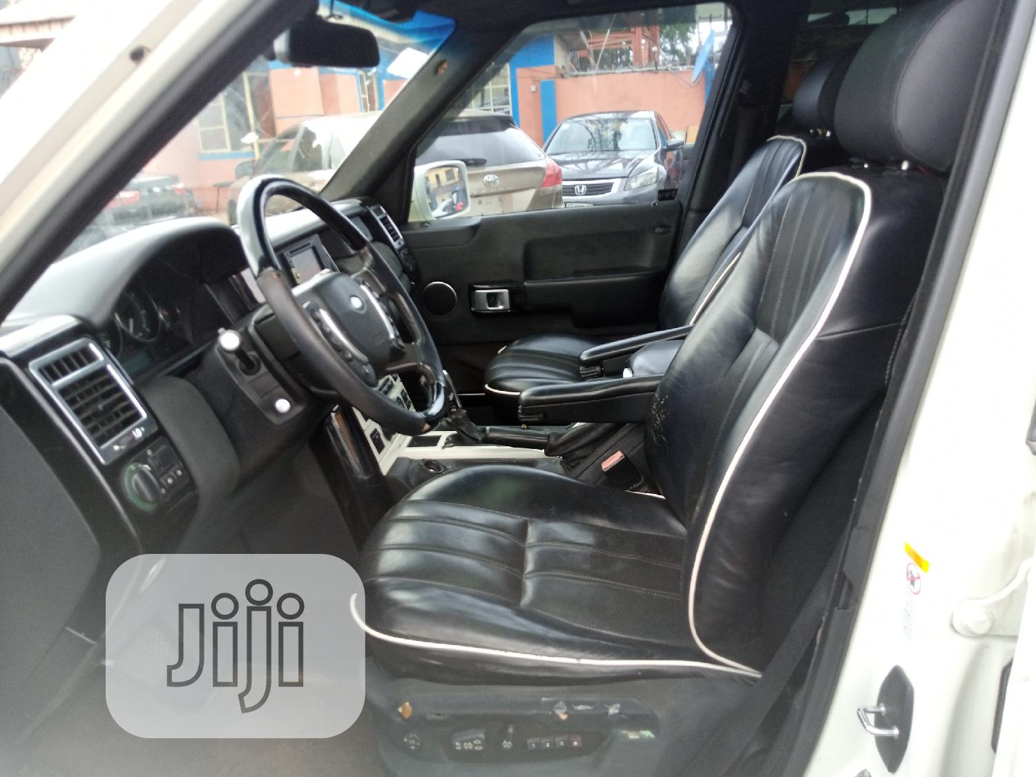 Land Rover Range Rover Sport 2006 White   Cars for sale in Ikeja, Lagos State, Nigeria