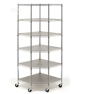 Seville Classic Heavy Duty Steel 6- Tier Corner Shelf | Store Equipment for sale in Lagos State, Ikeja