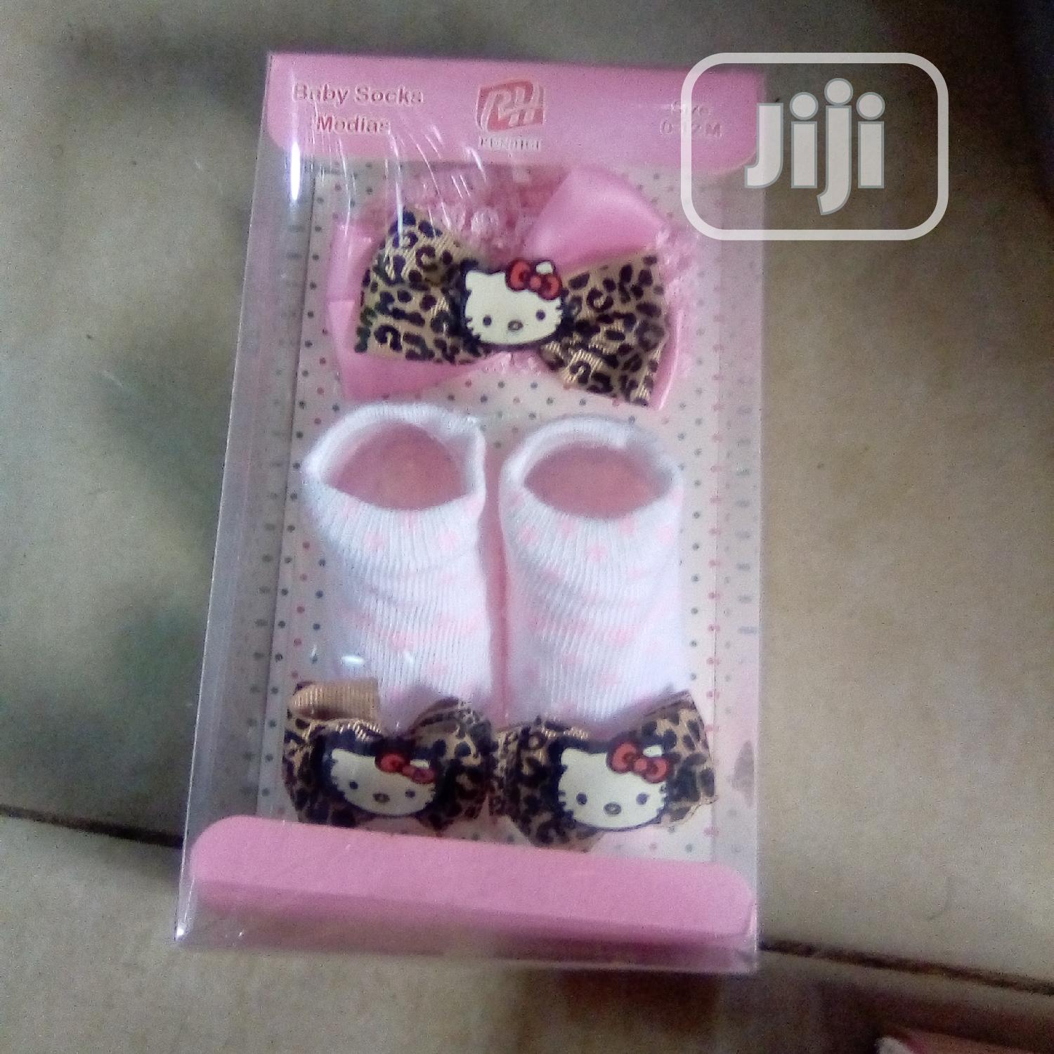 Baby Booties With Alice Band | Children's Shoes for sale in Oshodi, Lagos State, Nigeria