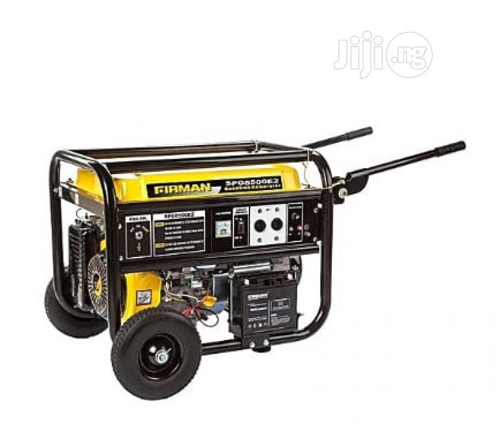 Sumec 3.2 KVA Fireman Generator SPG 3800E2 (Pure Copper Coil