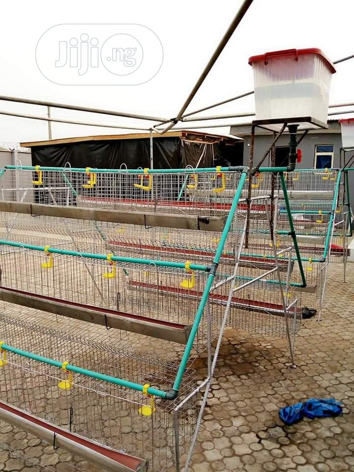 Battery Cage For Layers Using Galvanize Materials | Other Services for sale in Ilorin West, Kwara State, Nigeria