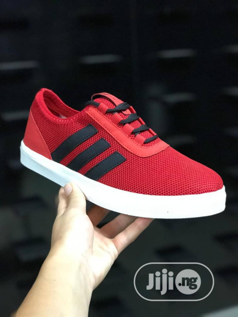 Archive: Blue or Red Sneakers
