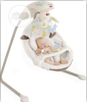 Fisher Price Nature'S Touch Cradle Swing | Children's Gear & Safety for sale in Lagos State, Lekki