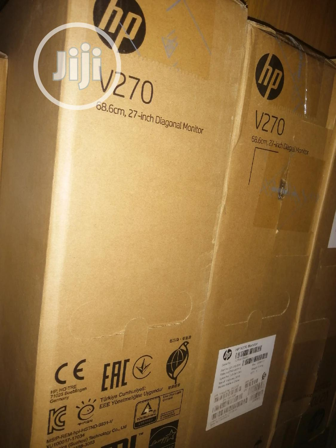Hp V270, 27 Inch Monitor | Computer Monitors for sale in Ikeja, Lagos State, Nigeria
