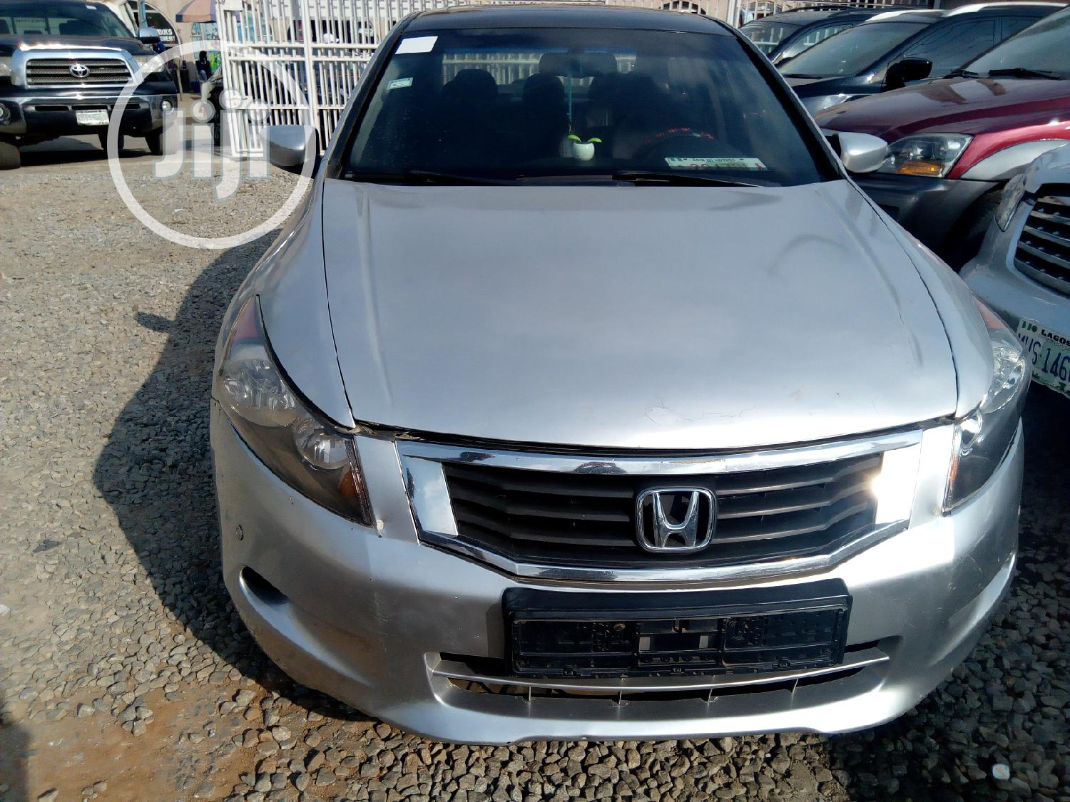 Honda Accord 2008 Silver | Cars for sale in Agege, Lagos State, Nigeria