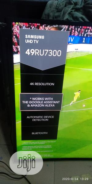 """49"""" Samsung Curve Uhd 4K Hdr TV With Amazon Alexa (2019) 