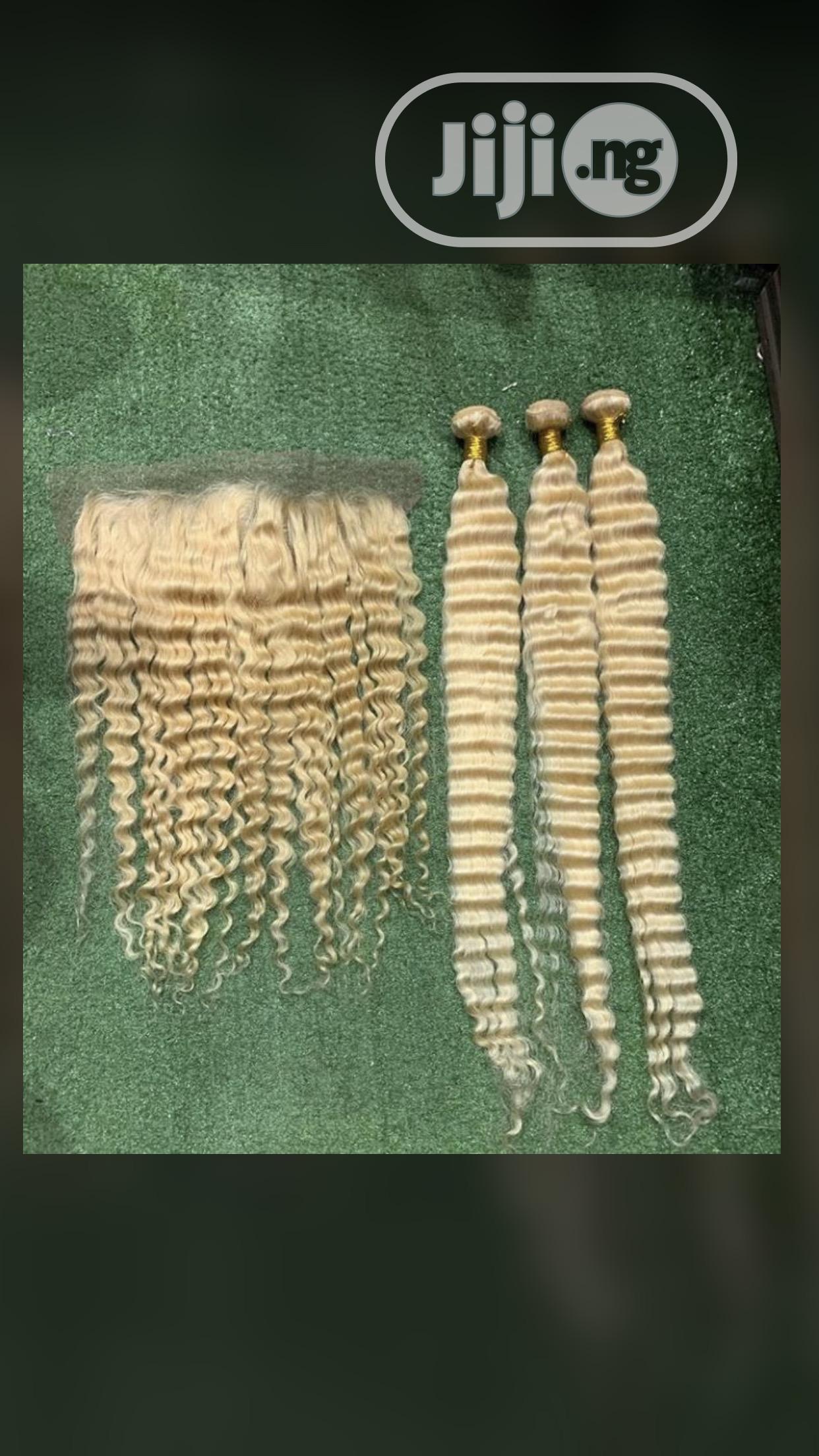 Blonde Loose Weave