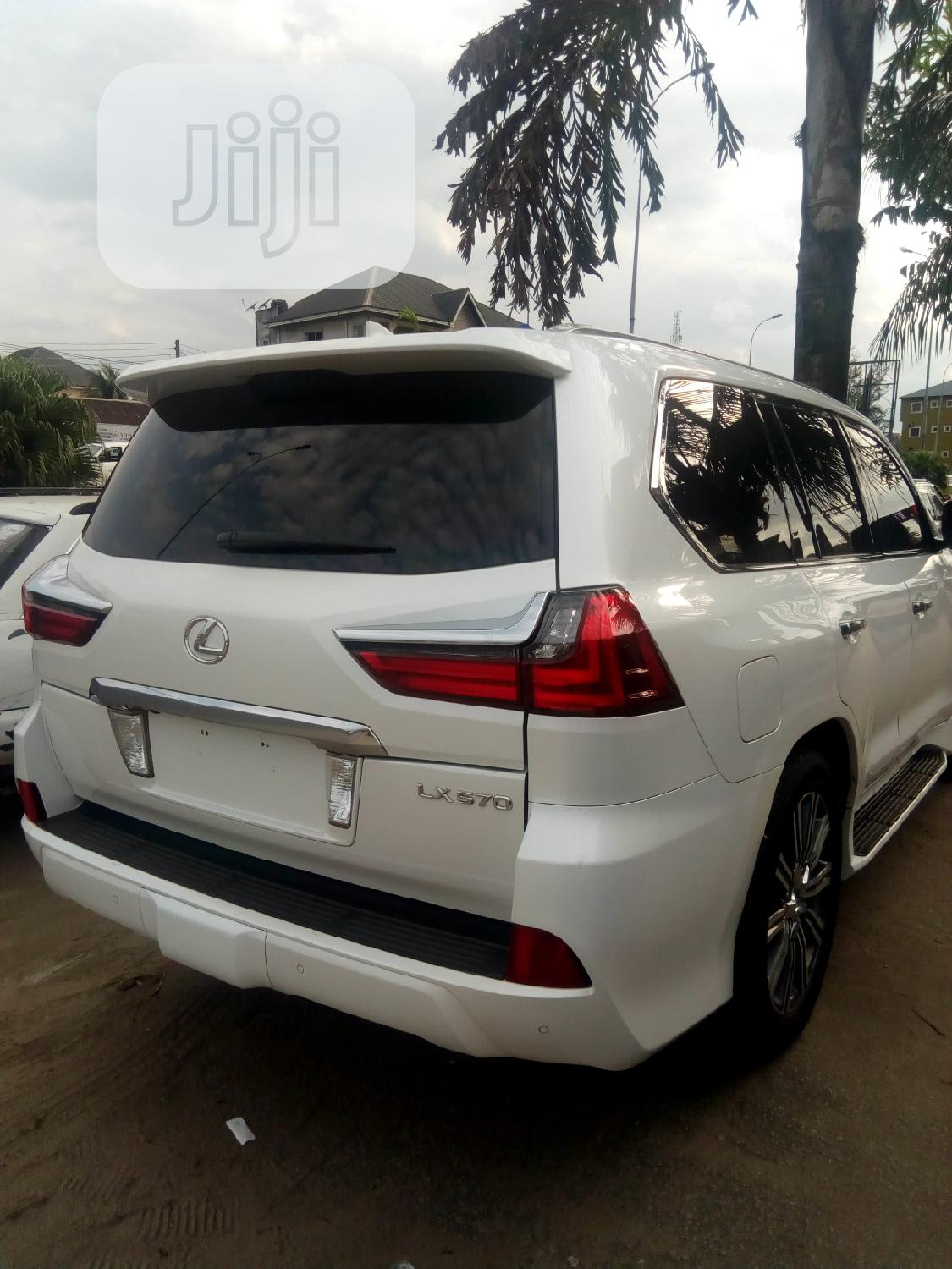 Lexus LX 2017 570 Base White | Cars for sale in Port-Harcourt, Rivers State, Nigeria