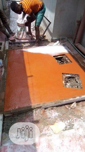 Perfect Stamp Floor Installation | Cleaning Services for sale in Lagos State, Gbagada