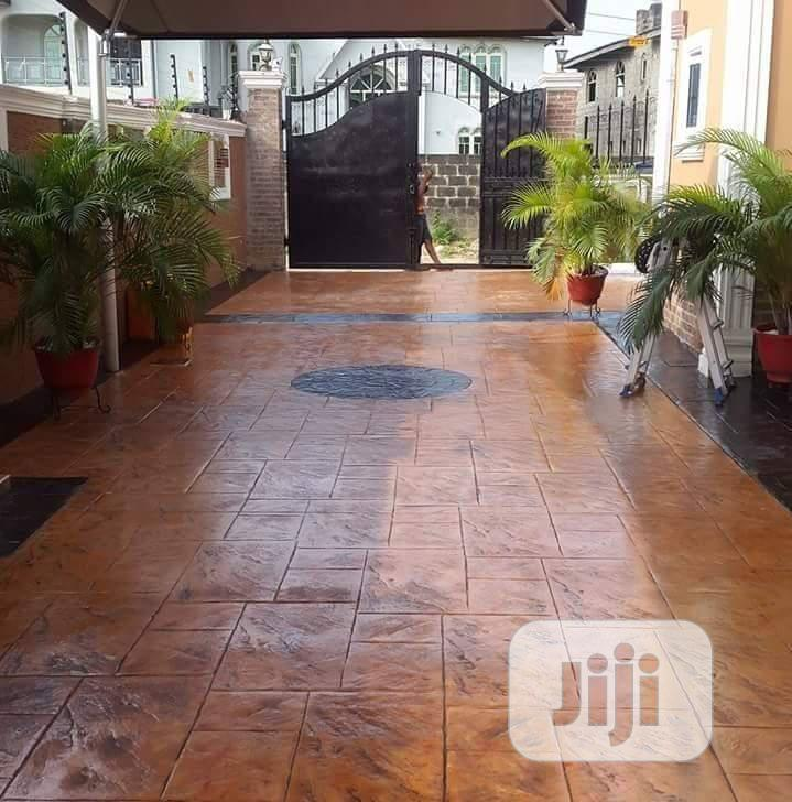 Detailed Stamped Concrete