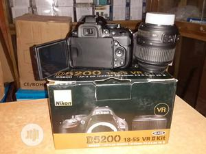Brand New NIKON Camera D5200 With Lens 18-55mm | Photo & Video Cameras for sale in Lagos State, Ojo