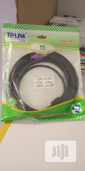 USB Printer Cable 5m | Accessories & Supplies for Electronics for sale in Lagos State, Ajah