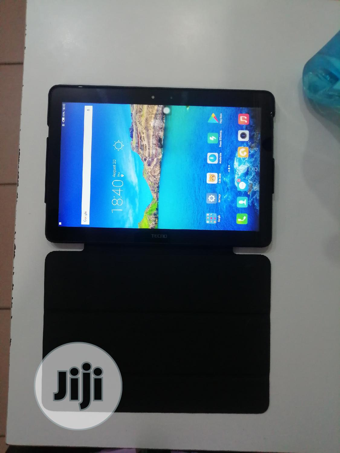 Tecno DroiPad 10D 16 GB Black | Tablets for sale in Wuse 2, Abuja (FCT) State, Nigeria