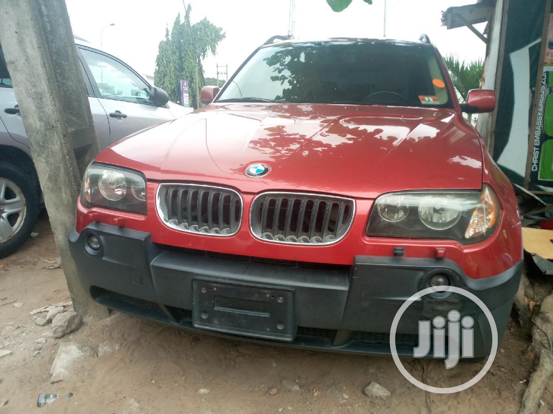 BMW X3 2005 3.0i Red