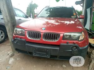 BMW X3 2005 3.0i Red | Cars for sale in Lagos State, Amuwo-Odofin