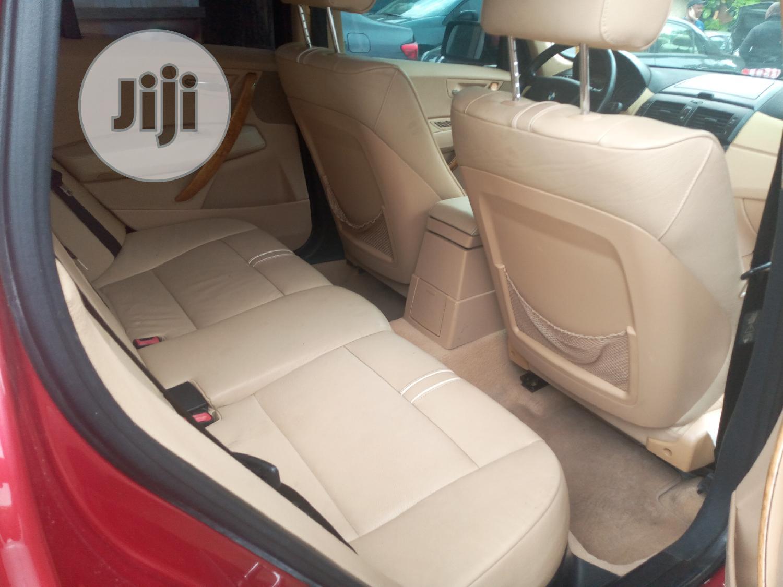 BMW X3 2005 3.0i Red | Cars for sale in Amuwo-Odofin, Lagos State, Nigeria