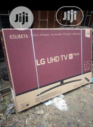 LG Smart Satellite 65-Inch UHD 4K TV Magic Remote (65UM74)   TV & DVD Equipment for sale in Lagos State, Ojo