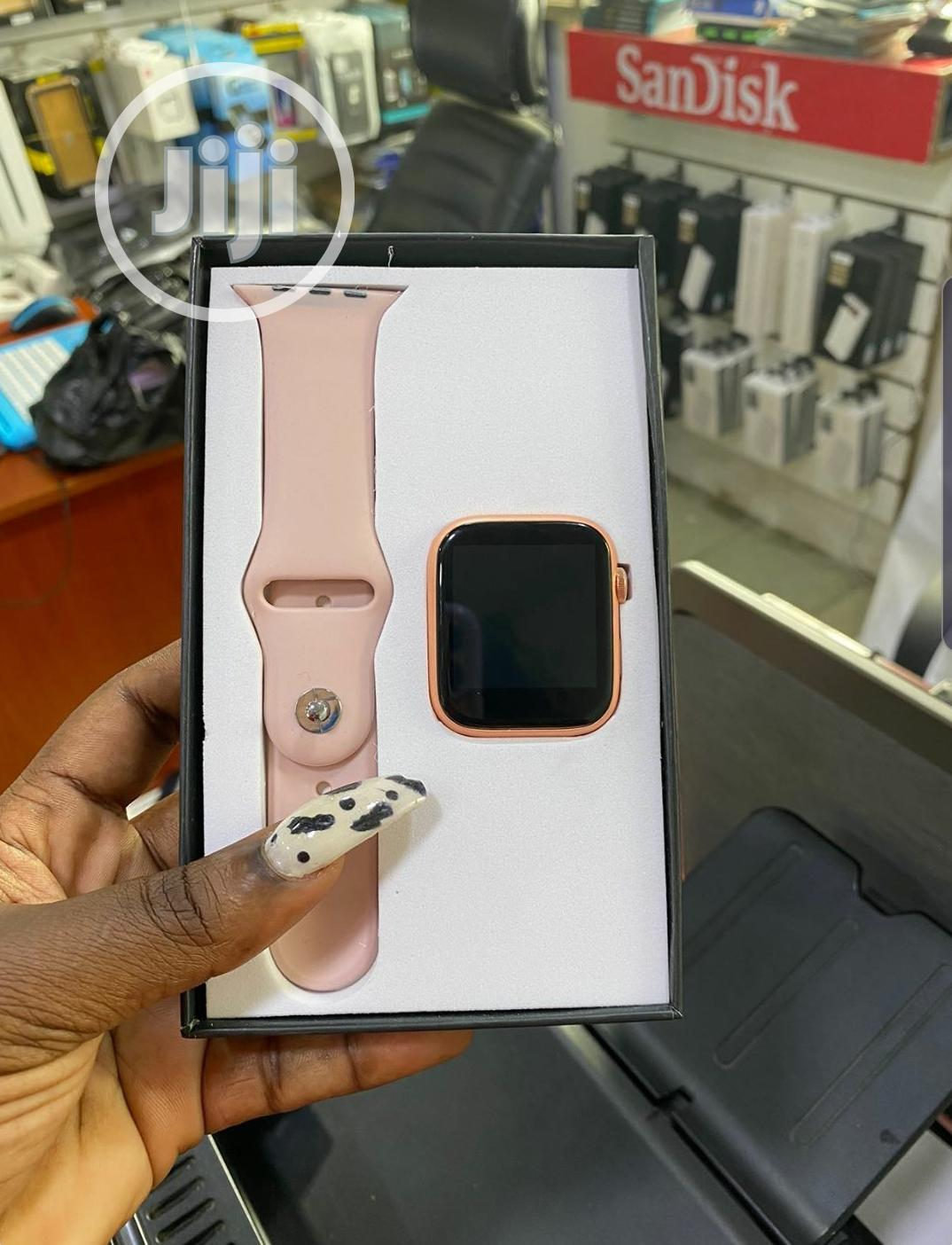 Full Touch Screen Sport Smartwatch | Smart Watches & Trackers for sale in Ikeja, Lagos State, Nigeria