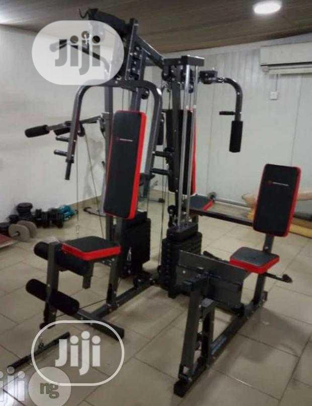 Archive: New 4 Station Gym