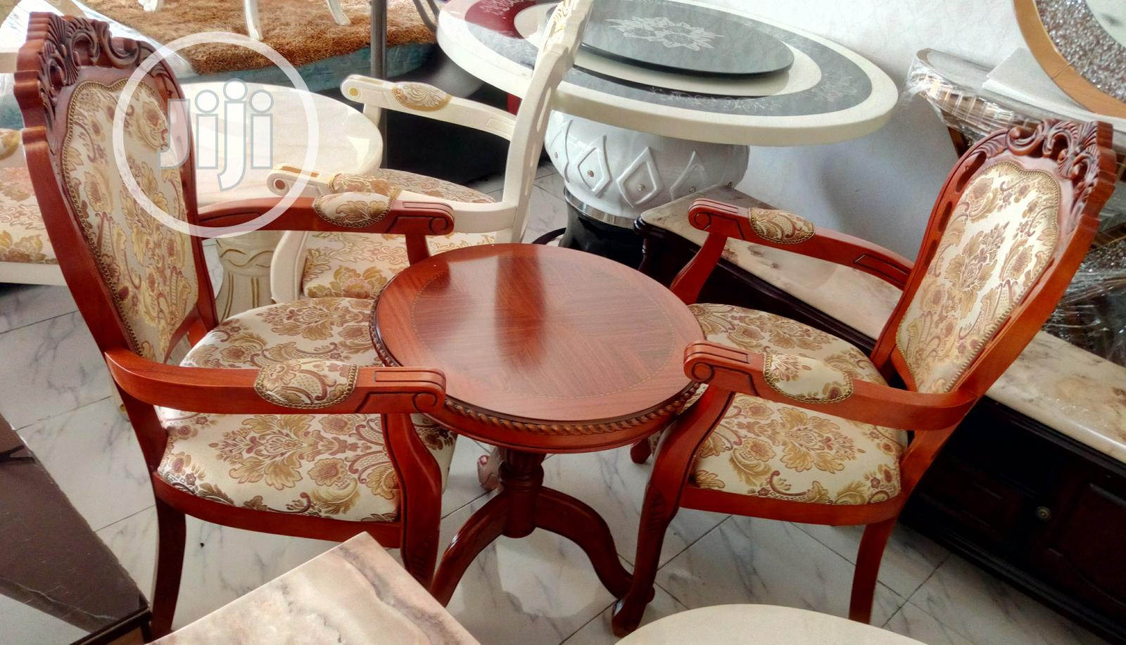 Super Quality You And Me Console Set Of Table With 2 Chairs