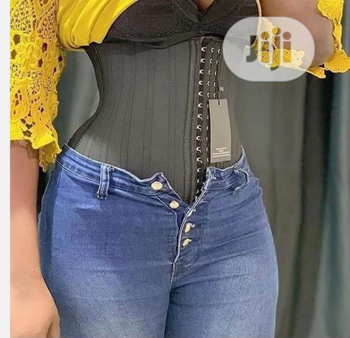 Women Latex Waist Trainer 25 Steel Bone Invisible Shapewear | Clothing Accessories for sale in Surulere, Lagos State, Nigeria