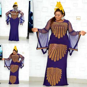 New Female Turkey Quality Long Dress With Stones | Clothing for sale in Lagos State, Lagos Island (Eko)