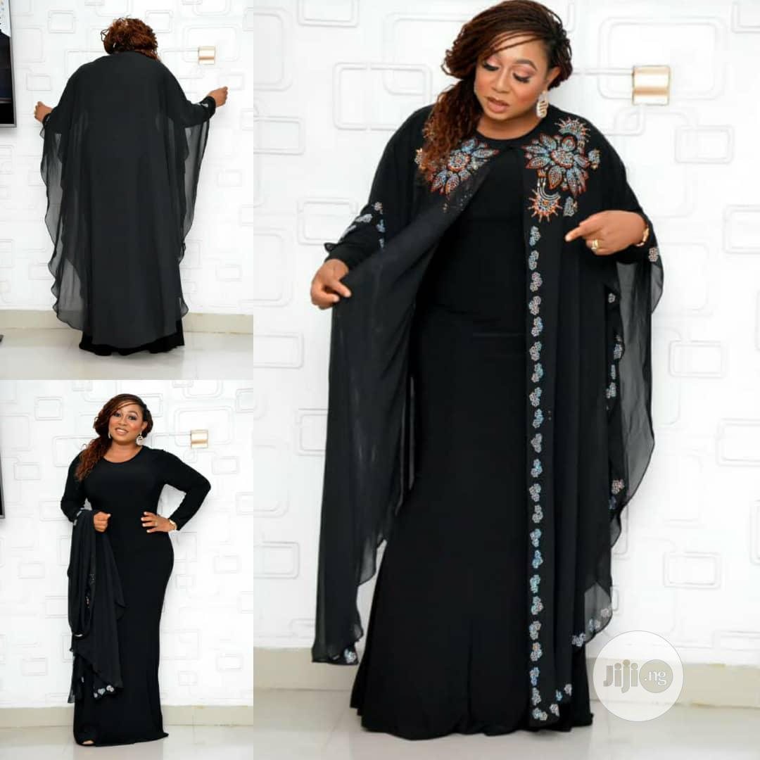 New Female Turkey Quality Long Dress With Stones